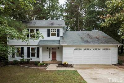 Raleigh Single Family Home Contingent: 6305 Cape Charles Drive
