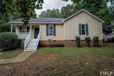 Clayton Single Family Home For Sale: 3003 Brittany Drive