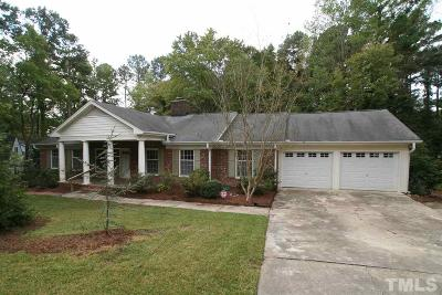 Raleigh Single Family Home For Sale: 5501 Alpine Drive