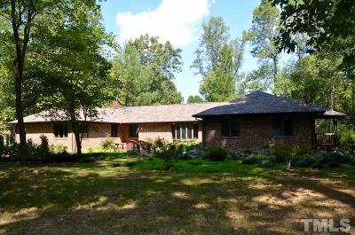 Pittsboro Single Family Home For Sale: 760 Redgate Drive