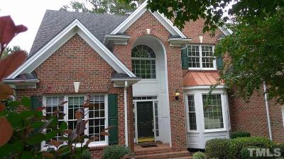 Cary Single Family Home For Sale: 304 Hassellwood Drive