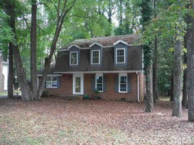 Garner Single Family Home For Sale: 1105 Buckingham Road