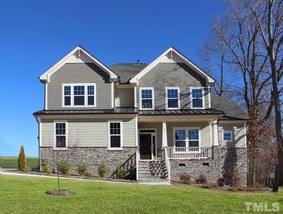 Rolesville Single Family Home For Sale: 520 Adkins Ridge Road #42
