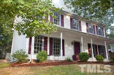 Durham Single Family Home For Sale: 5706 Hadrian Drive