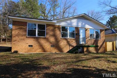 Durham Single Family Home For Sale: 2921 Sprucewood Drive