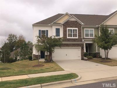 Cary NC Townhouse Contingent: $319,900
