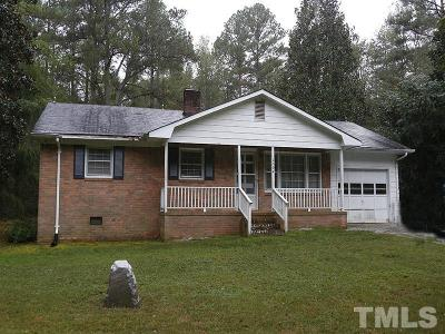 Durham Single Family Home For Sale: 1504 Torredge Road