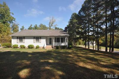 Creedmoor Single Family Home Contingent: 802 Woodland