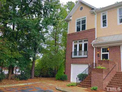 Raleigh Townhouse For Sale: 6101 Shandwick Court