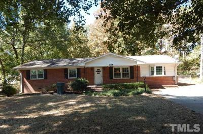 Durham Single Family Home For Sale: 305 Chandler Road