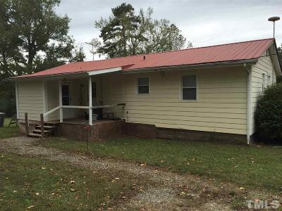 Siler City Single Family Home For Sale: 184 Addie Alston Road