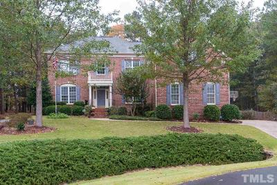 Raleigh Single Family Home For Sale: 4708 Haleytree Court