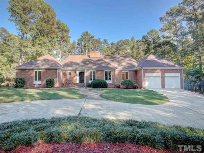Raleigh Single Family Home For Sale: 9404 Bartons Creek Road