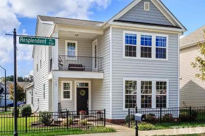 Raleigh Single Family Home Contingent: 701 Resplendent Place