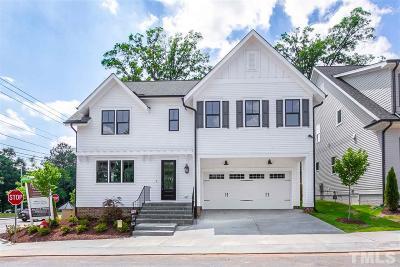 Raleigh Single Family Home For Sale: 1301 Pecora Lane