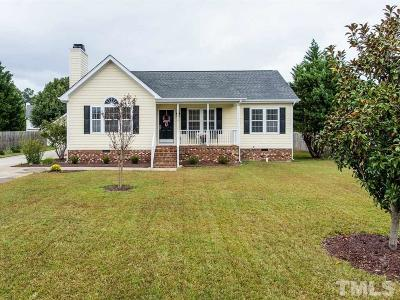 Holly Springs Single Family Home Contingent: 112 Teal Lake Drive