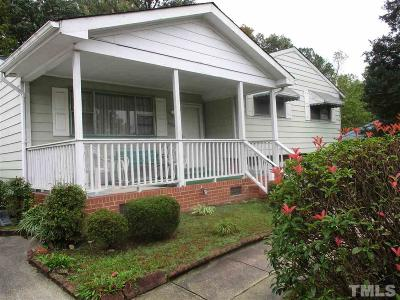 Raleigh Single Family Home Pending: 2003 Waters Drive