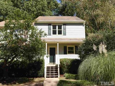 Raleigh Townhouse For Sale: 6778 Chauncey Drive