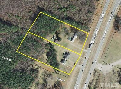 Wake County Residential Lots & Land For Sale: 13901 Capital Boulevard