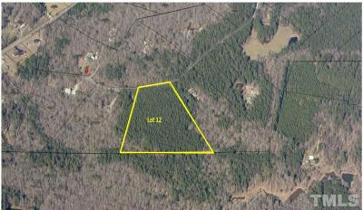 Orange County Residential Lots & Land For Sale: Lot 12 Woodland Park Drive