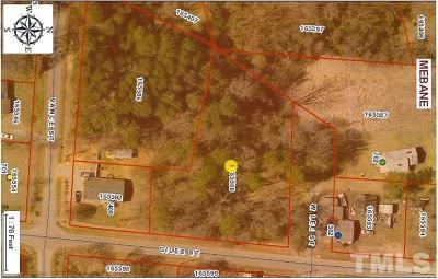 Mebane Residential Lots & Land For Sale: Lot Giles Street