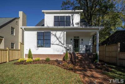 Durham Single Family Home Contingent: 310 W Trinity Avenue