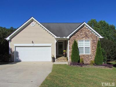 Knightdale Single Family Home For Sale: 817 Willowedge Court