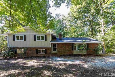 Chapel Hill Single Family Home For Sale: 920 Shady Lawn Extension