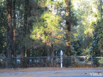 Durham County Residential Lots & Land For Sale: 3620 Carlisle Drive