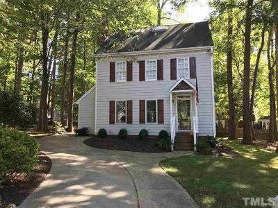 Raleigh Single Family Home Contingent: 6901 Sandringham Drive