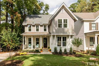 Raleigh Single Family Home For Sale: 3602 Phyllis Drive