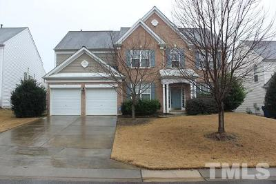 Raleigh Single Family Home For Sale: 7536 Silver View Lane