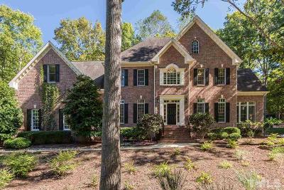 Raleigh Single Family Home For Sale: 1317 Woodgate Manor Court