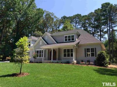 Raleigh Single Family Home For Sale: 6902 Valley Drive