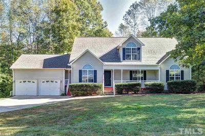 Wake County Single Family Home Contingent: 2208 Wheelerbrook Court