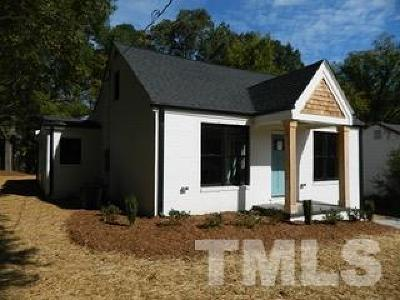 Durham Single Family Home For Sale: 1804 Bivins Street