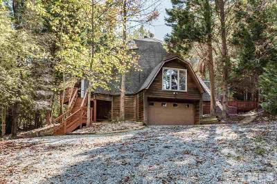 Durham Single Family Home Contingent: 4722 Cole Mill Road