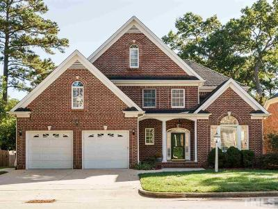 Raleigh NC Single Family Home For Sale: $460,000