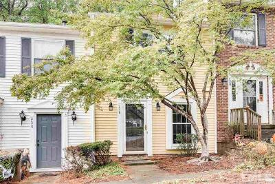 Cary Townhouse Contingent: 228 Rosebrooks Drive