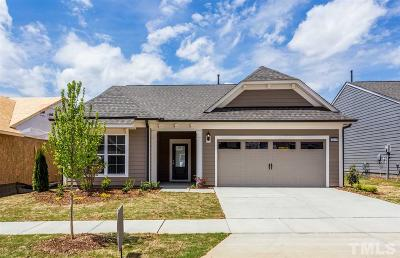Wake Forest Single Family Home For Sale: 1025 Calista Drive #DWTE Lot