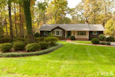 Durham Single Family Home For Sale: 3940 Bristol Road