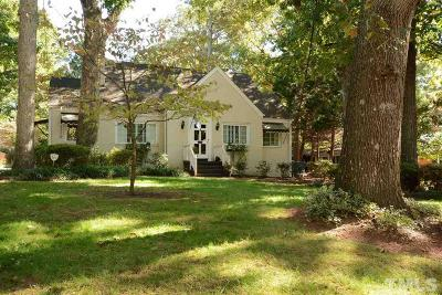 Wake County Single Family Home For Sale: 1312 Dixie Trail