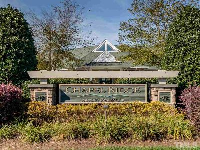 Pittsboro Residential Lots & Land For Sale: 591 Cabin Creek Drive