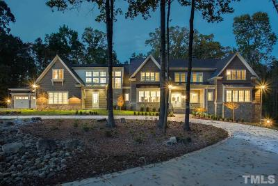 Raleigh Single Family Home For Sale: 5149 Avalaire Oaks Drive