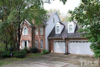 Cary Single Family Home Contingent: 127 Summer Lakes Drive