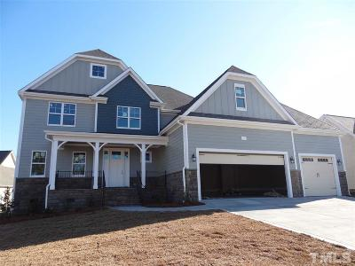 Garner Single Family Home Contingent: 581 Coalyard Drive