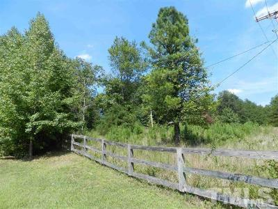 Durham County Residential Lots & Land For Sale: 2423 Red Mountain Road