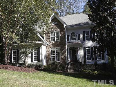 Raleigh Single Family Home Pending: 12304 Glenlivet Way