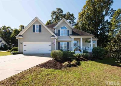 Holly Springs Single Family Home Contingent: 101 Back Woods Circle