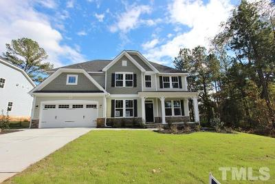 Holly Springs Single Family Home For Sale: 109 Park Bluff Drive